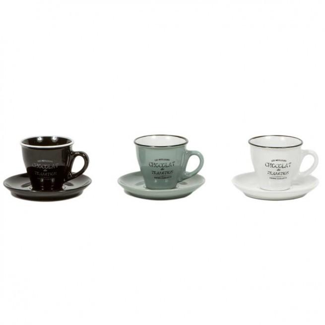 Φλιτζάνι Espresso Boisson Σετ 6τμχ. 85ml Marva home home   ειδη cafe τσαϊ   κούπες   φλυτζάνια