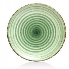 Πιάτο Ρηχό Πορσελάνης Green Avanos 27cm Gural