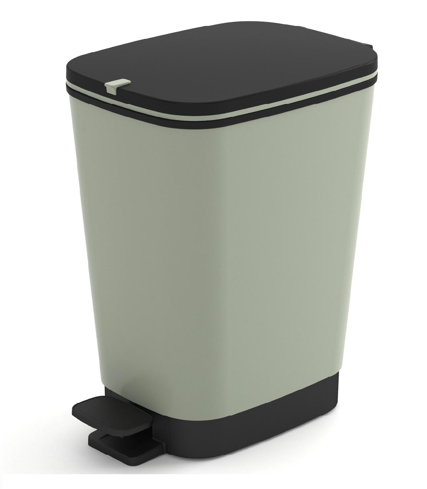 Πεντάλ Πλαστικό Chic Bin Desert Sage 35lt Kis home   αξεσουαρ κουζινας   δοχεία απορριμάτων