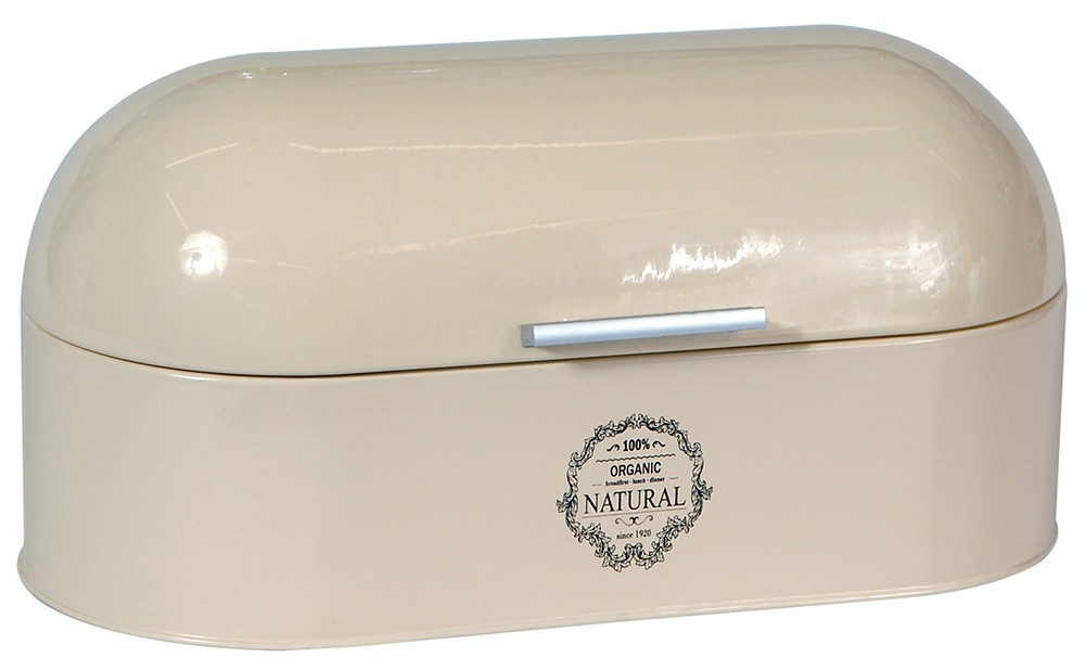 Ψωμιέρα Μεταλλική Οβάλ Natural Μπεζ home   αξεσουαρ κουζινας   ψωμιέρες   φρουτιέρες