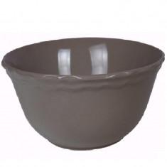Μπολ Σαλάτας Κεραμικό 25cm Καφέ Happy Ware Juliet