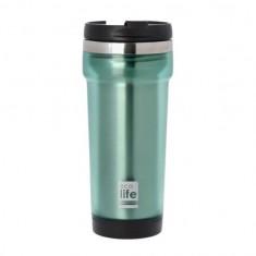 Θερμός Ποτήρι Eco Life Ανοξείδωτο Mug Green 420ml