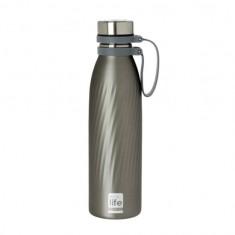 Θερμός EcoLife Μεταλλικό Ανοξείδωτο Cool Grey Thermos 500ml