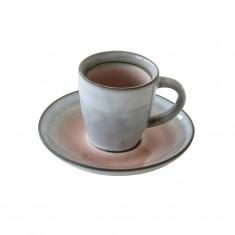 Φλυτζάνι Καφέ Πορσελάνης 75ml Κρακελέ Σομόν R2S