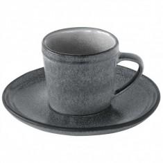 Φλυτζάνι Καφέ Πορσελάνης 75ml Essential Γκρι R2S