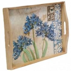 Δίσκος Ξύλινος Flower 41X30 Marva Home