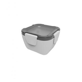 Φαγητοδοχείο Πλαστικό BPA FREE Smash Grey 650ml Ecolif