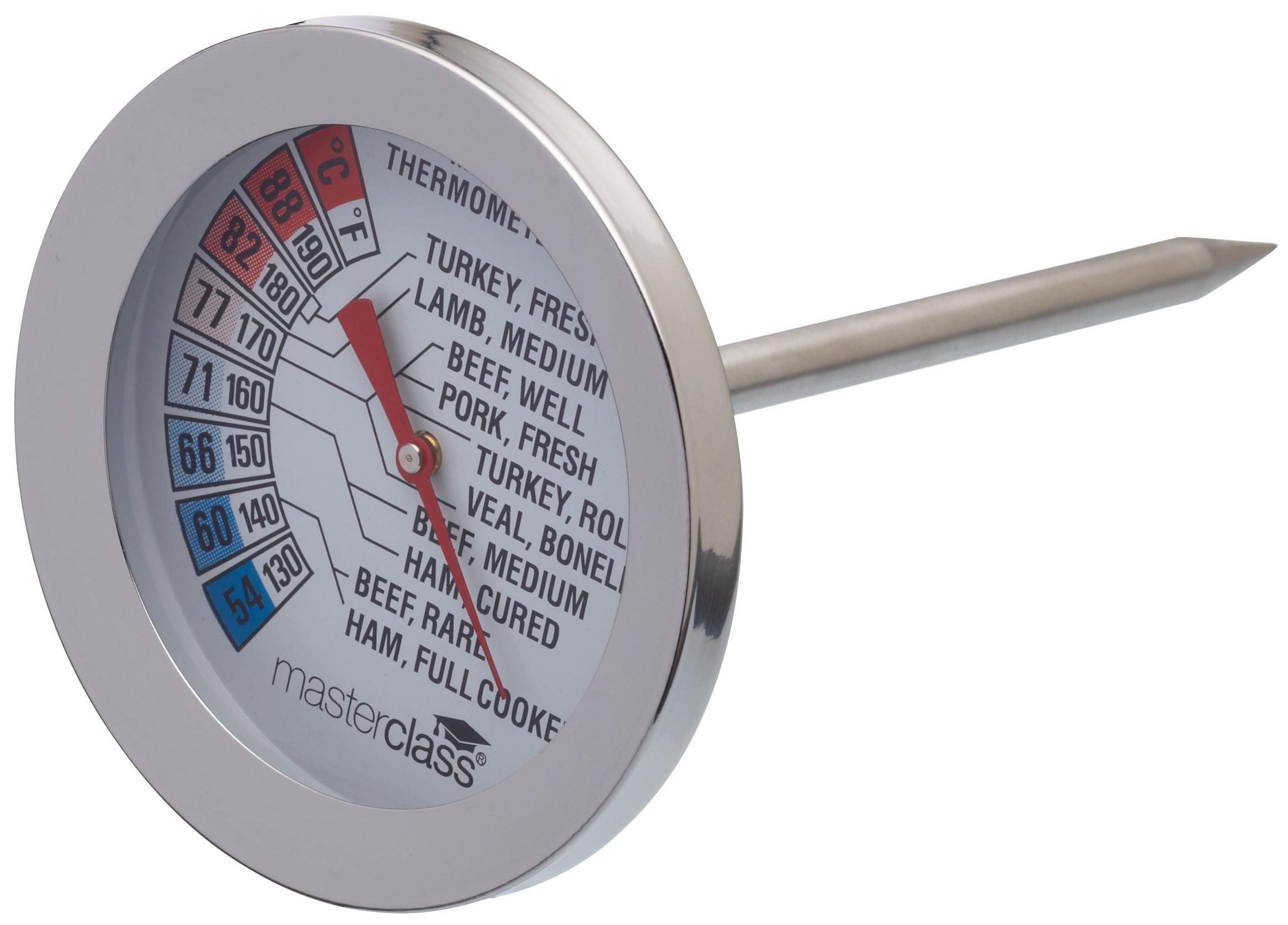 θερμόμετρο κρέατος inox kitchencraft home   εργαλεια κουζινας   θερμόμετρα   χρονόμετρα