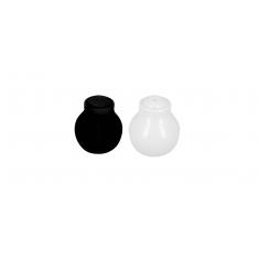 Αλατοπίπερο Άσπρο Μαύρο Σετ 2τμχ.
