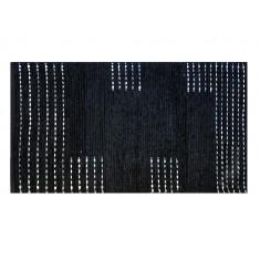 Χαλάκι Ναυσικά Εσωτερικού Χώρου Μάυρο 70X135