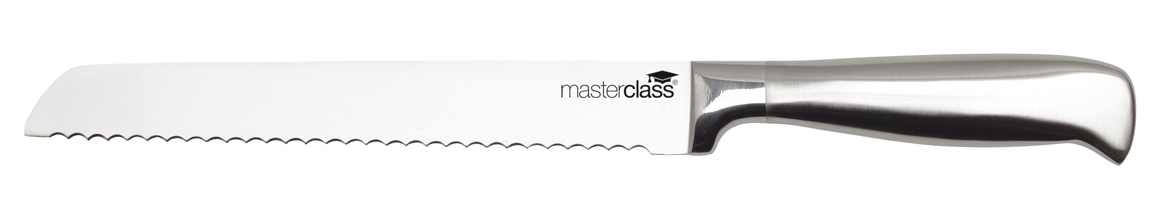 Μαχαίρι Ψωμιού Ανοξείδωτο 20cm Masterclass home   εργαλεια κουζινας   μαχαίρια
