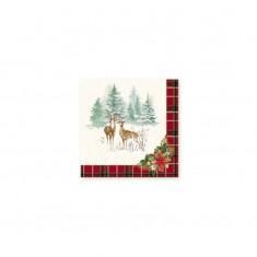 Χαρτοπετσέτες Πολυτελείας Winter Forest R2S
