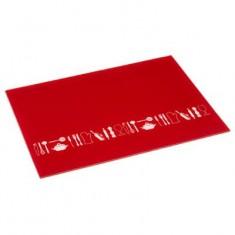 Επιφάνεια Κοπής Γυάλινη Red 40cm