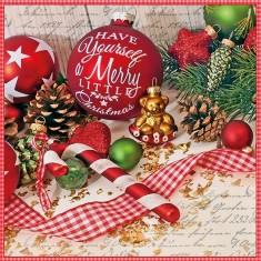 Χαρτοπεσέτες Πολυτελείας Merry Little Christmas
