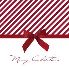 Χαρτοπεσέτες Πολυτελείας Christmas Bow Red