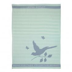 Πετσέτα Κουζίνας Laura Ashley Mint Bird 50X70 Heritage