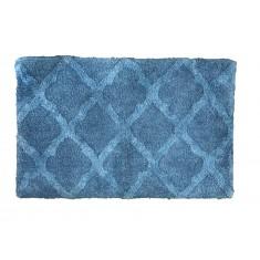 Πατάκι Μπάνιου Βαμβακερό Vivian Blue 50x80cm