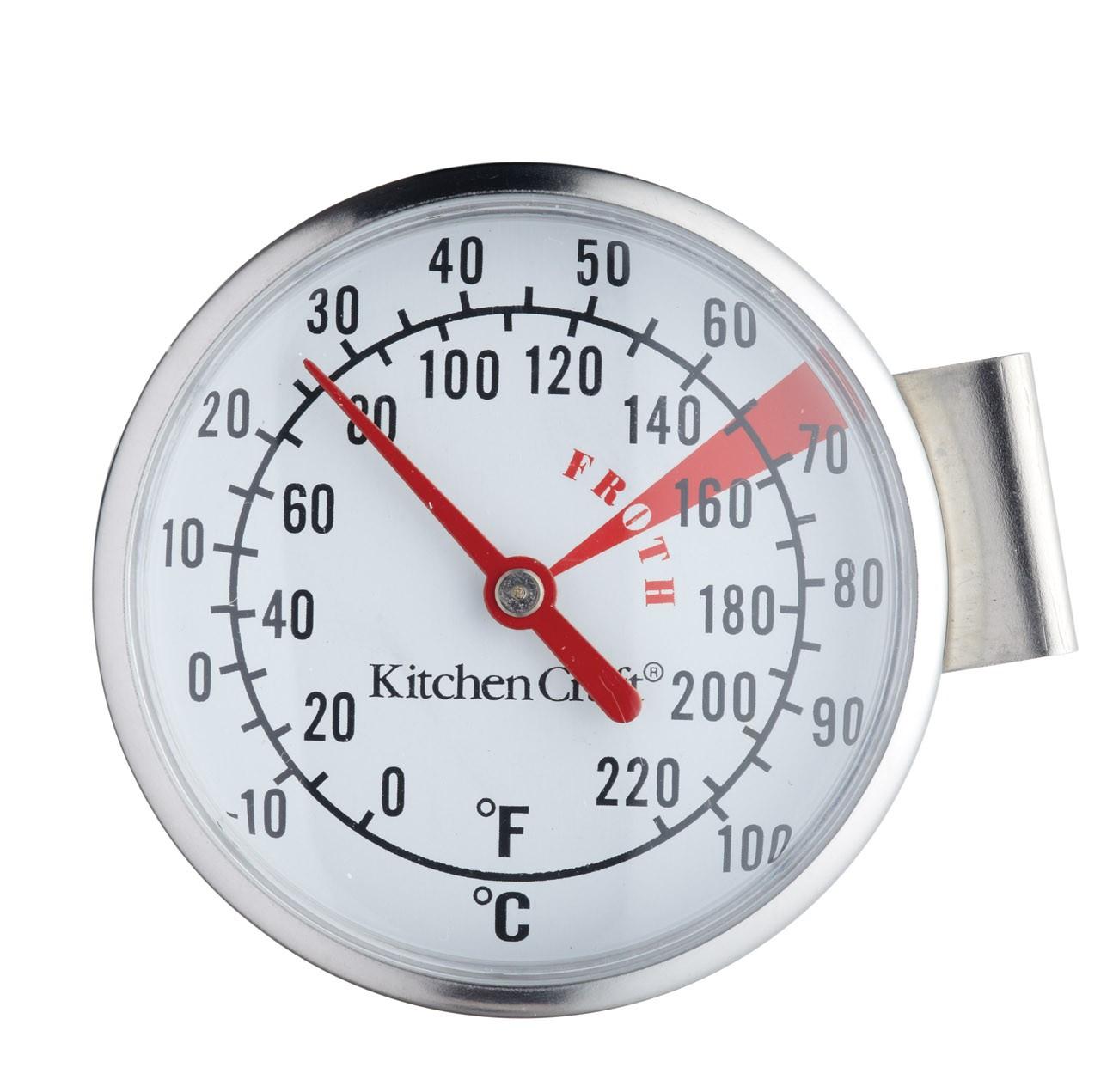 θερμόμετρο γάλακτος inox kitchencraft home   εργαλεια κουζινας   θερμόμετρα   χρονόμετρα