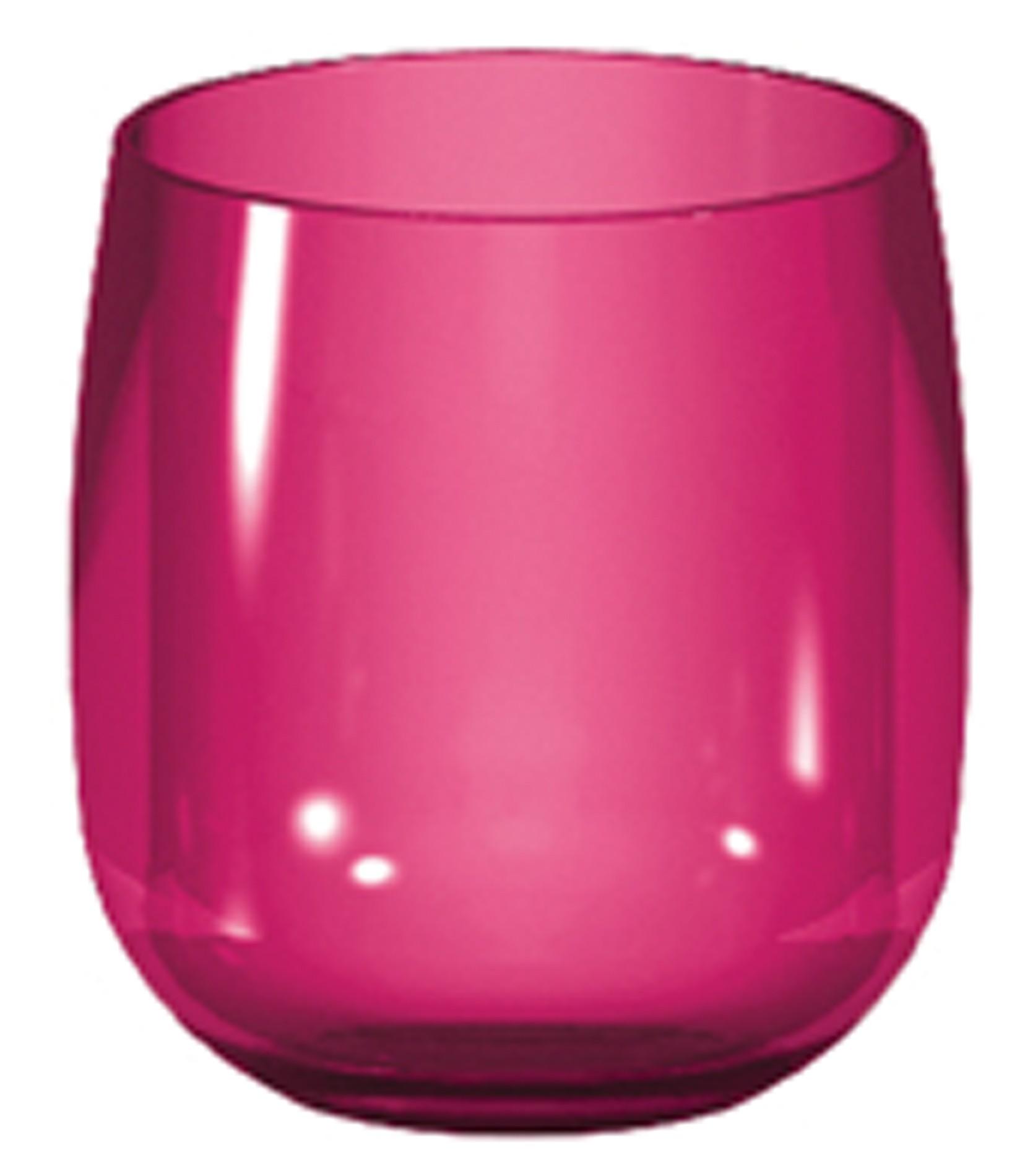 ποτήρι Ουίσκι zak designs μελαμίνης stacky φούξια home   ειδη σερβιρισματος   ποτήρια