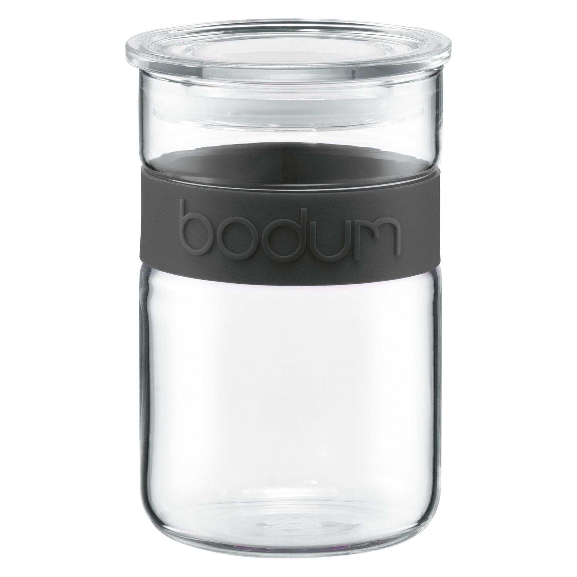 βάζο bodum γυάλινο μαύρο 0,6 lit home   ειδη cafe τσαϊ   δοχεία καφε   ζάχαρης