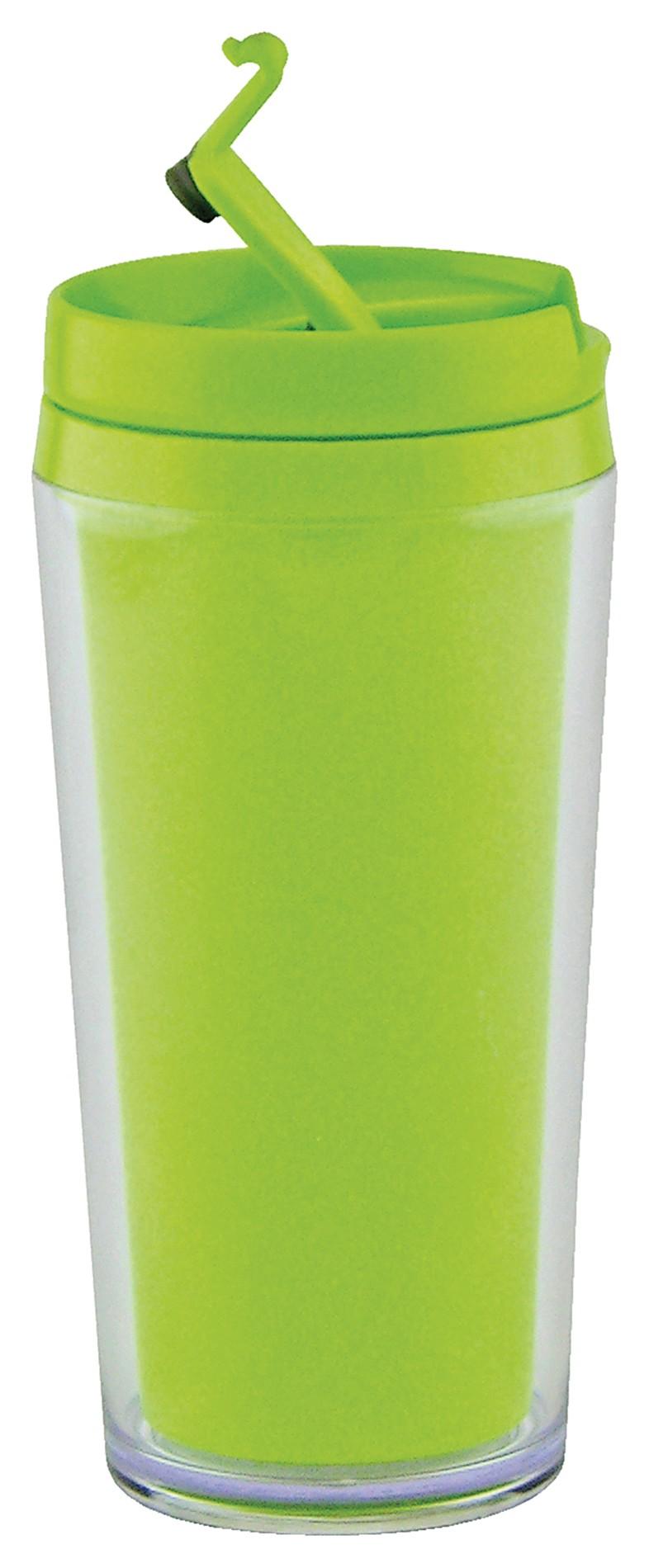θερμός ποτήρι zak designs μελαμίνης opaque λαχανί 45cl home   αξεσουαρ κουζινας   παγούρια   θερμός