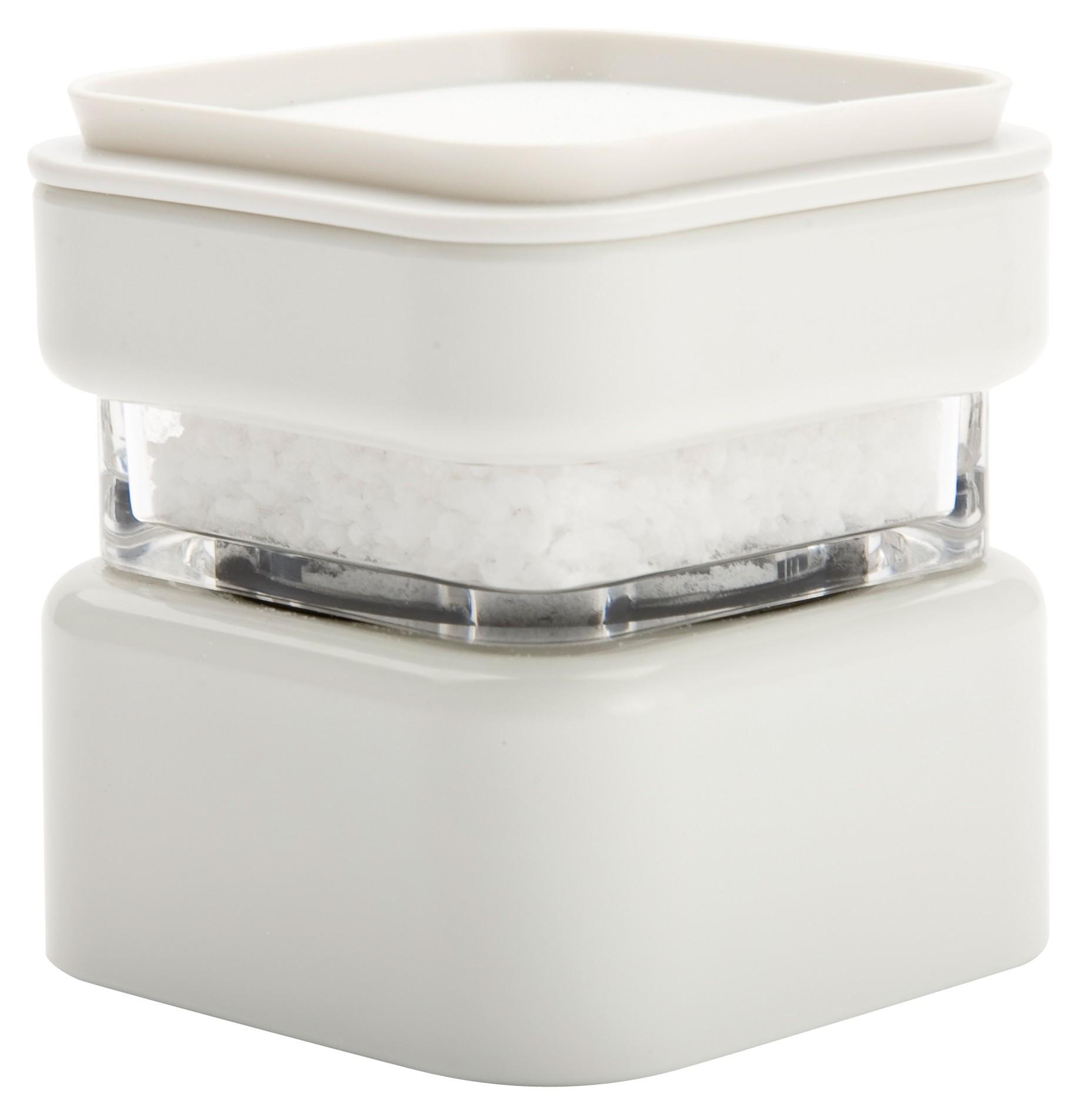 μύλος αλατοπίπερου zak μελαμίνης λευκός στοιβαζόμενος home   αξεσουαρ κουζινας   μύλοι αλατοπίπερου