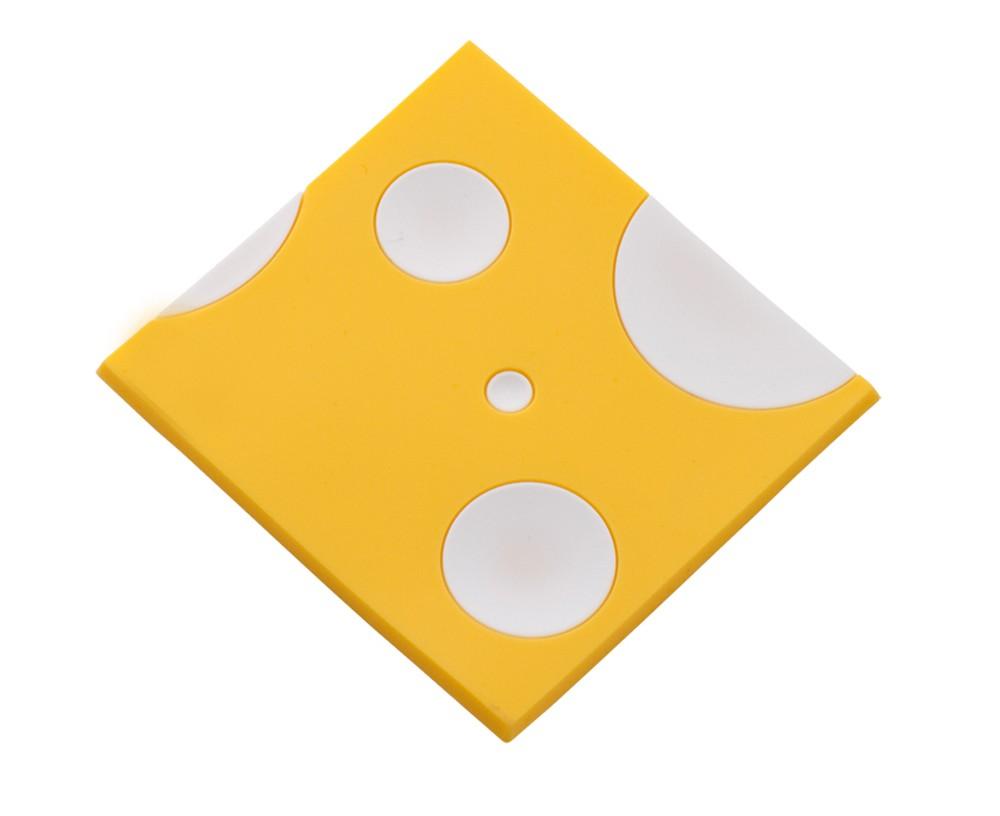 σουβέρ σετ 6 τεμάχια σιλικόνης τυρί home   αξεσουαρ κουζινας