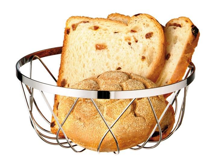 ψωμιέρα μεταλλική 18cm aps home   αξεσουαρ κουζινας   ψωμιέρες   φρουτιέρες