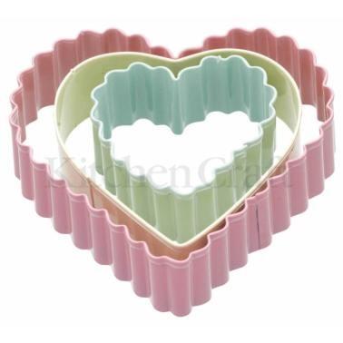 κουπ-πατ καρδιά σετ 3 τεμάχια sweetly does it home   ζαχαροπλαστικη   κουπ   πατ
