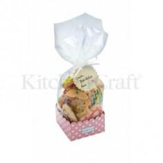 σακουλάκια για γλυκά με χάρτινη βάση σετ 6 τεμάχια sweetly does it
