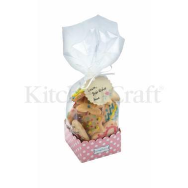 σακουλάκια για γλυκά με χάρτινη βάση σετ 6 τεμάχια sweetly does it home   ζαχαροπλαστικη   εργαλεία ζαχαροπλαστικής