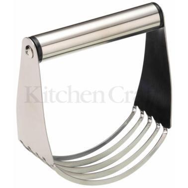 ζυμωτήριο χειροκίνητο inox 11cm x 12cm kitchencraft home   εργαλεια κουζινας   εργαλεία ζύμης   ζυμαρικών