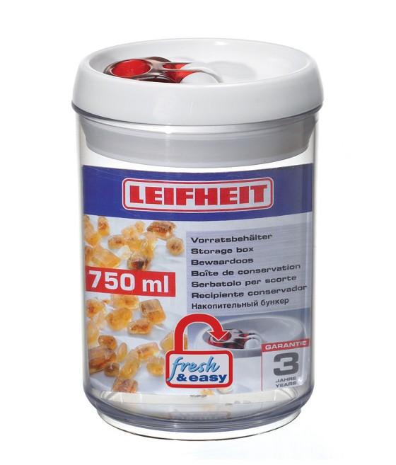 δοχείο τροφίμων πλαστικό fresh & easy leifheit 750ml home   αξεσουαρ κουζινας   δοχεία τροφίμων   βάζα αποθήκευσης
