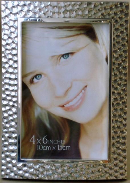 κορνίζα αλουμινίου σφυρήλατη 10 x 15cm home   κρυσταλλα  διακοσμηση   κορνίζες