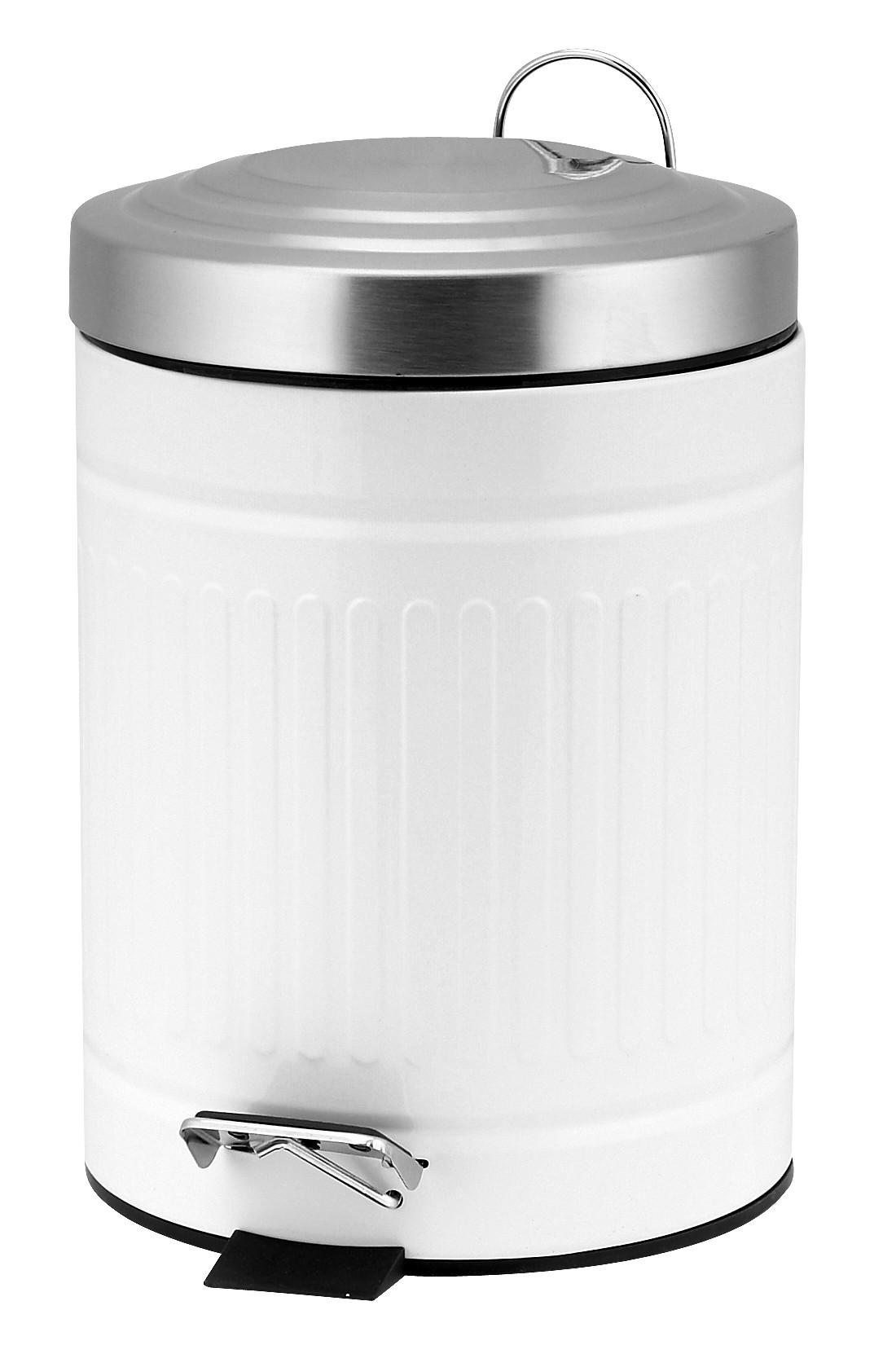πεντάλ 5lit παραδοσιακό στρογγυλό λευκό home   ειδη μπανιου   πετάλ