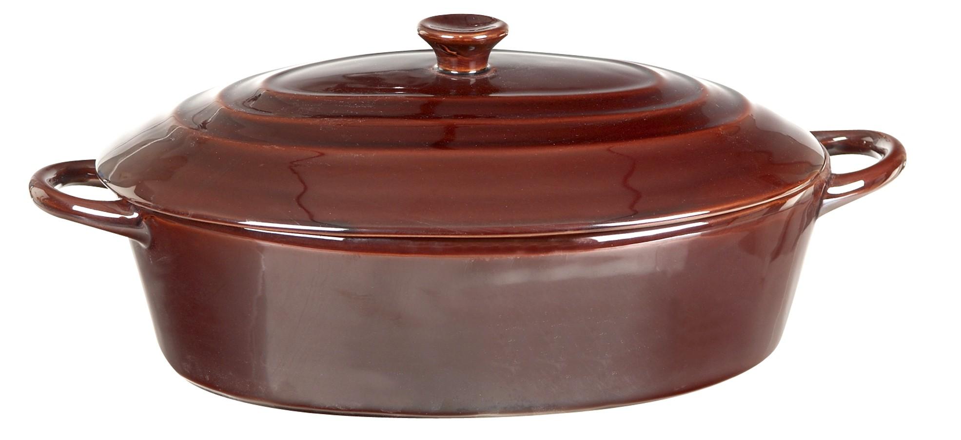γάστρα πυρίμαχη οβάλ 36cm Venus home   σκευη μαγειρικης   γάστρες
