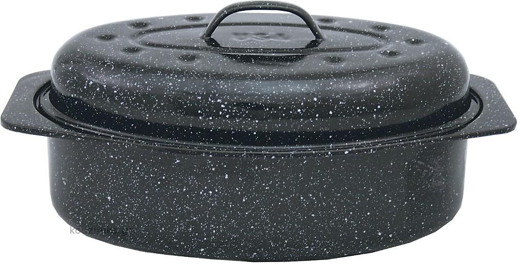 Γάστρα Αμερικάνικη Usa Οβάλ 6106 6lit Granite - Ware home   σκευη μαγειρικης   γάστρες