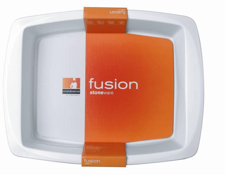 ταψί πυρίμαχο παραλληλόγραμμο vista alegre 32cm fusion white home   σκευη μαγειρικης   πυρίμαχα