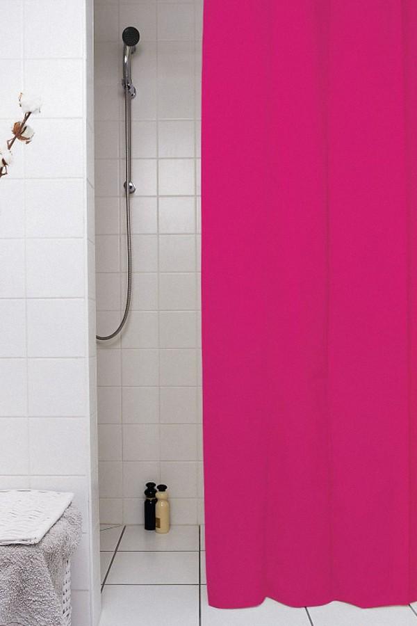 κουρτίνα μπάνιου υφασμάτινη μονόχρωμη 180x180cm home   ειδη μπανιου   κουρτίνες μπάνιου