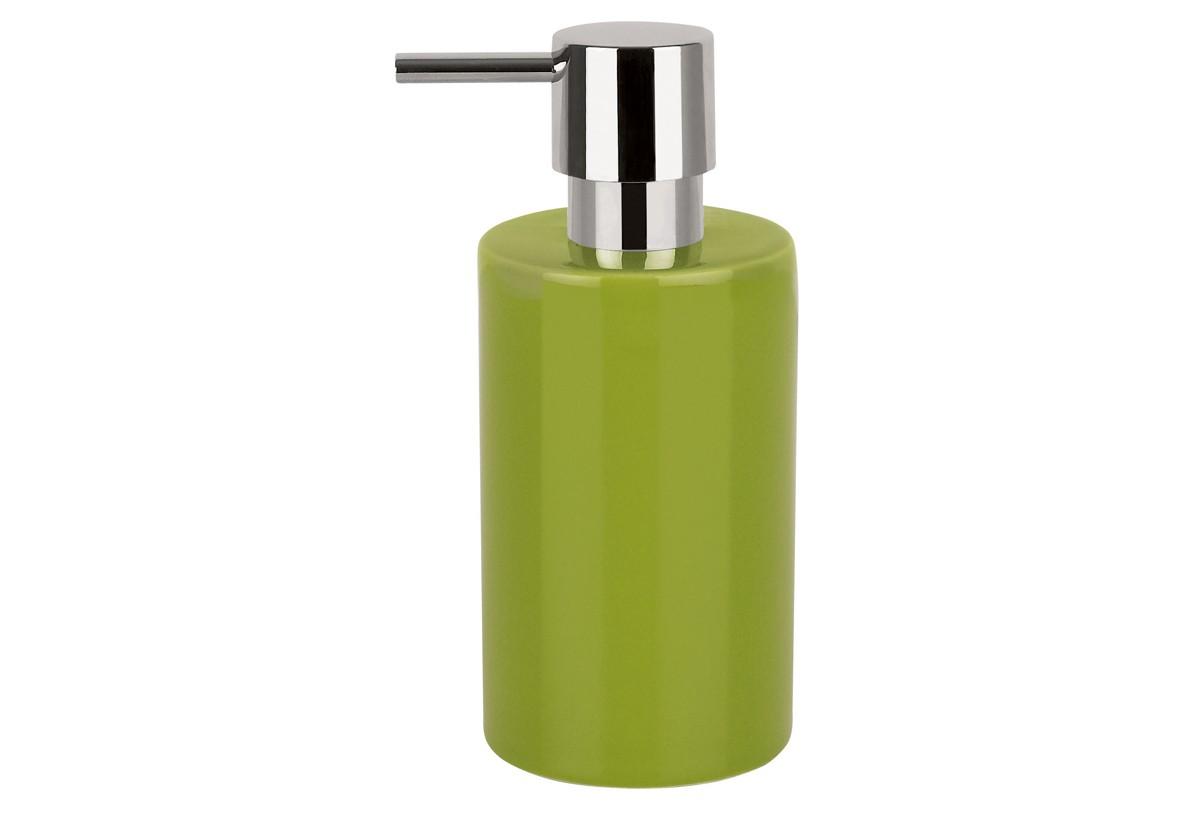 dispencer θήκη για κρεμοσάπουνο spirella πράσινο home   ειδη μπανιου   αξεσουάρ μπάνιου   dispencer