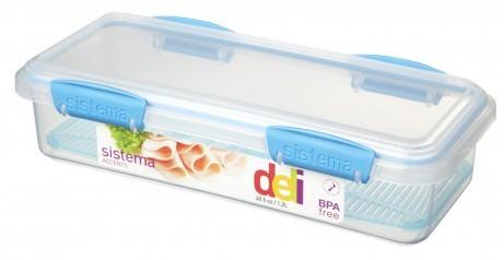 Δοχείο Τροφίμων BPA Free1,2l μπλε SISTEMA home   αξεσουαρ κουζινας   δοχεία τροφίμων   βάζα αποθήκευσης