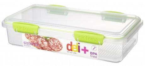 Δοχείο Τροφίμων BPA Free1,75l λαχανί SISTEMA home   αξεσουαρ κουζινας   δοχεία τροφίμων   βάζα αποθήκευσης