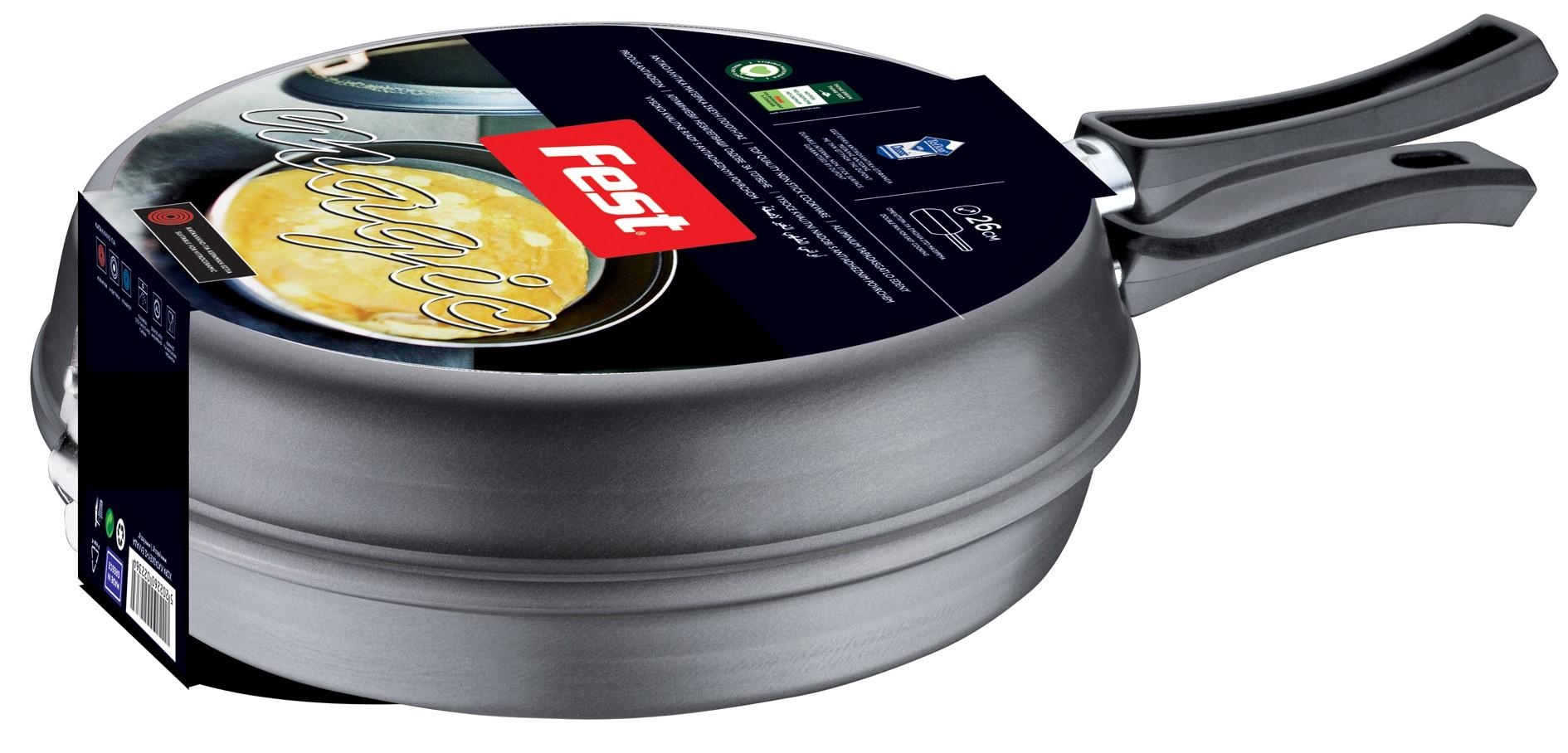 ομελετιέρα αντικολλητική fest magic 26cm home   σκευη μαγειρικης   τηγάνια