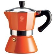 Καφετιέρα Για Espresso 3 Φλυτζάνια πορτοκαλί Pezzetti home   ειδη cafe τσαϊ   espresso machines