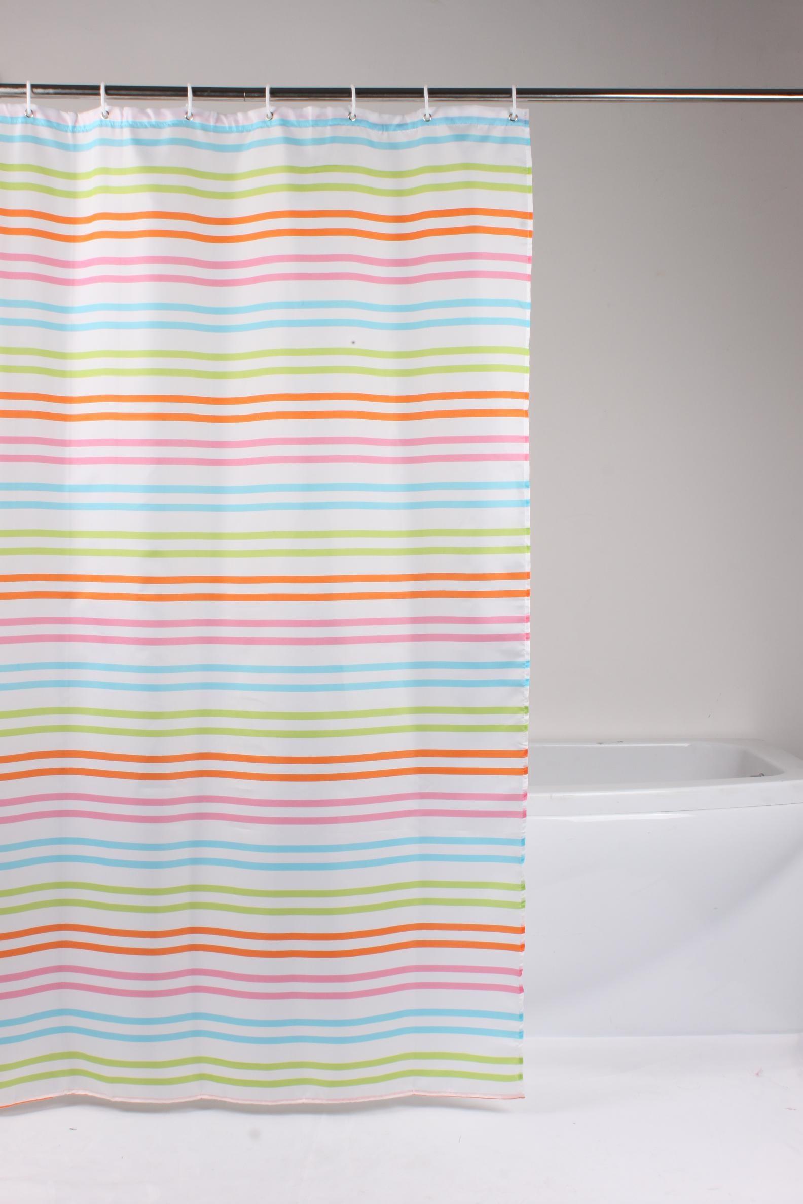 κουρτίνα μπάνιου υφασμάτινη 180x180cm home   ειδη μπανιου   κουρτίνες μπάνιου