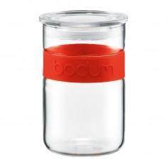 βάζο bodum γυάλινο κόκκινο 0,6 lit