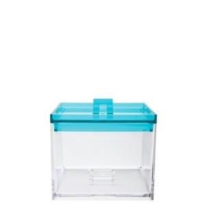 Δοχείο Μελαμίνης Storage Zak Designs Στοιβαζόμενο Blue 950ml home   ειδη cafe τσαϊ   δοχεία καφε   ζάχαρης