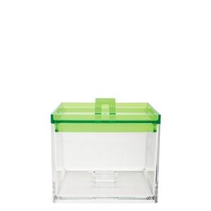 Δοχείο μελαμίνης zak designs στοιβαζόμενο πράσινο 950ml home   ειδη cafe τσαϊ   δοχεία καφε   ζάχαρης