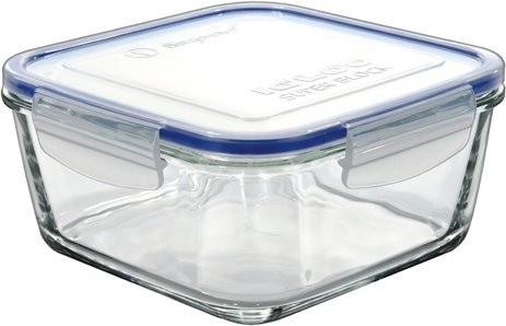 δοχείο τροφίμων τετράγωνο borgonovo γυάλινο igloo super block 1000ml home   αξεσουαρ κουζινας   δοχεία τροφίμων   βάζα αποθήκευσης