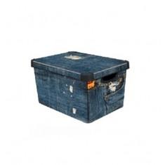 κουτί αποθήκευσης curver πλαστικό jeans